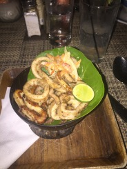 Jerk Grilled Calamari