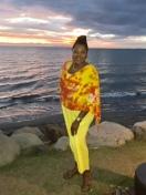 Lovely Traci, lovely Sunset
