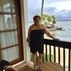 Tracy Beverly on my Balcony