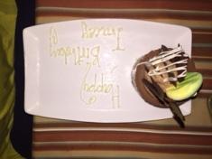 Special bday Dessert