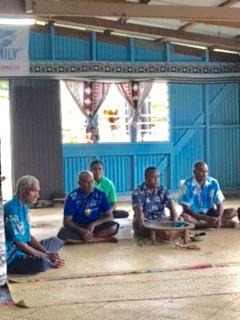 Village Men Offering Cava
