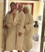 At the. So Spa with Tiff and DeeDee