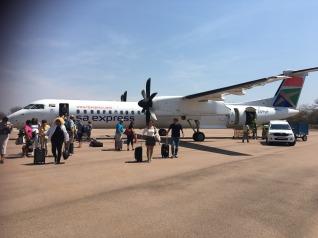Arrival at Kruger