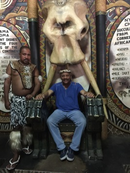 Chief Dahbazee aka Joey Smith at Lesedi Village