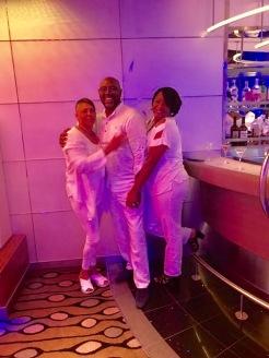 Sandy, Davion and Tosha