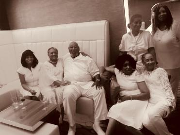 Shirley, Joanne, Joe, Jackie, Davia and Tanis