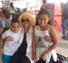 Ricardo and Maria at Cali airport.