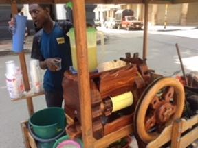 Cali Street Vendor