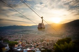 Cable car, Medellín