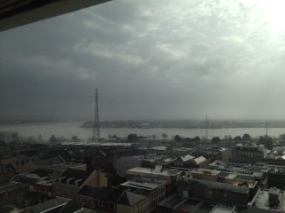 New Orleans Afternoon Rain, Courtesy of Nicole Robinson Hamilton