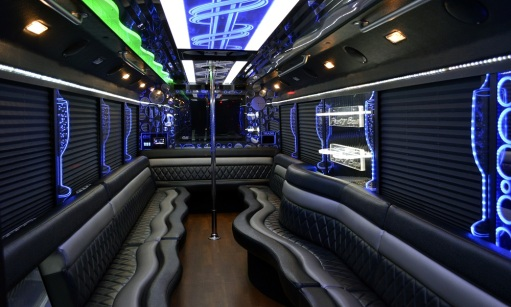 Party Bus Pick Up, Pole Anyone?