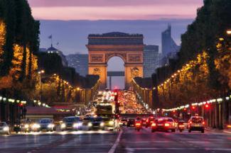 Famous Fabulous Champs Elysees, Paris
