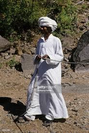Nubian in Tradional Wear
