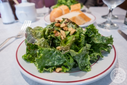 Green salad with walnuts at Le Venise