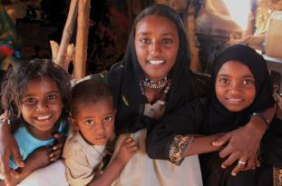 Beautiful Nubians in Aswan