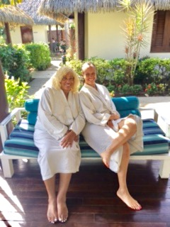Mom and Daughter- Sofitel Spa