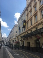 Hotel Carre' Vieux Where Josephine Baker Stayed When Performing at Opera House /end of street