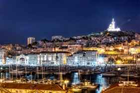 Night View of Marseille from all rooms