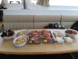 Lunch Prepared by the Crew