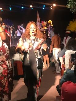 Debra After Samba Performance