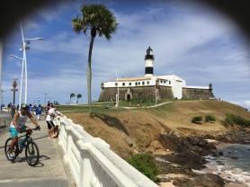 Farol Da Barra Lighthouse