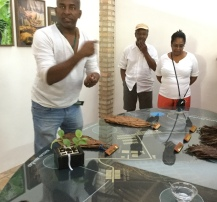 Josuel Explaining Cigar Production
