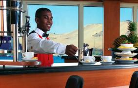 Nile Cruise, Nubian Waiter