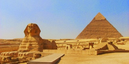 The Great Sphinx & The Pyramids