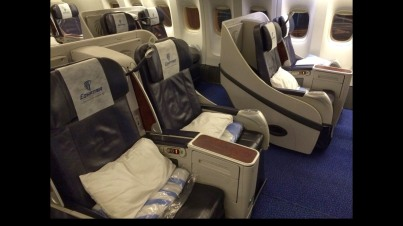 Business Class Egypt Air