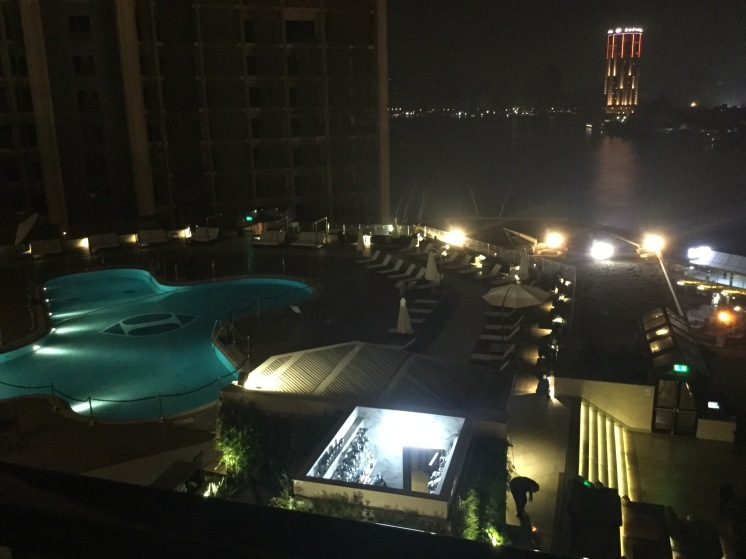 Night View from Room