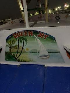 Queen Joy, Transportation to Balloon Park