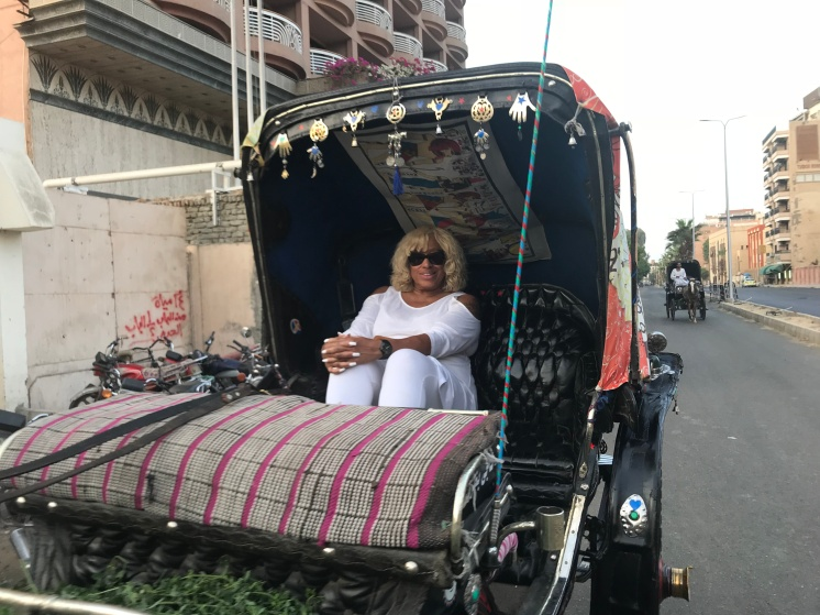 Horse Carrige Ride Through Luxor
