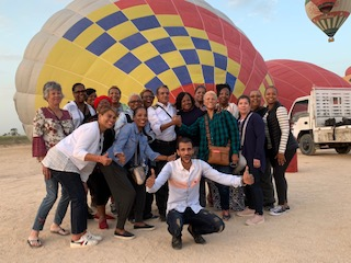 The Group with the Pilot and Ground Crew