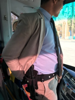 Private Security on Board Our Bus