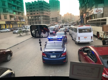 Red Lights & Sirens Through the Streets of Cairo
