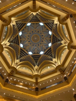 Emirates Palace, Central Ceiling