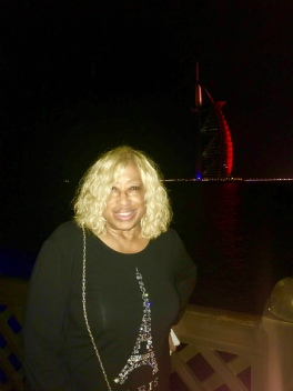 At Pier Chic with Burj Al Arab in Backdrop