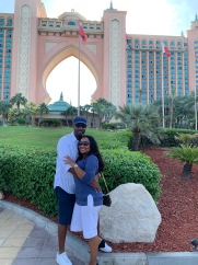 In front of Atlantis