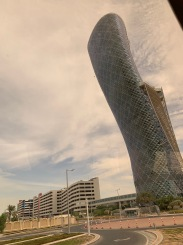 Capital Gate - In Guinness Book, Leans More than Tower of Pisa