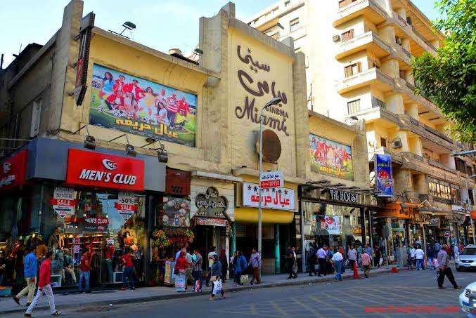 Busy Downtown Cairo