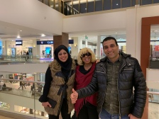 Jassar and Wife, Heba at Festival City