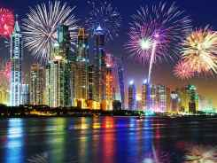 New Years in Dubai
