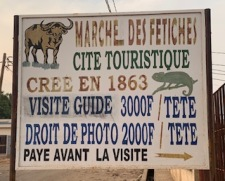 A Marche' to buy Animal parts for the Bush Doctor