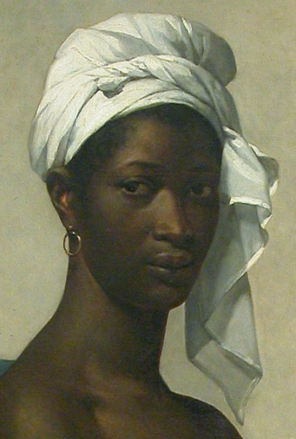Portrait of a Black Woman at the Louvre