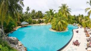 Gorgeous Pool, water aerobics here