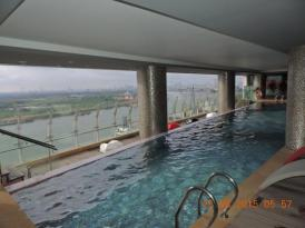 Indoor Outdoor Infinity Pool