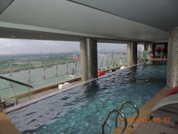 Indoor Outdoor Infinity Pool