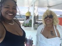 Traci and Kat on Sunday Cruise