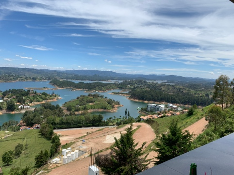 Lovely Lakes of Guatapé, My Private Lunch