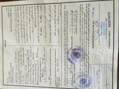Affidavit from Embassy